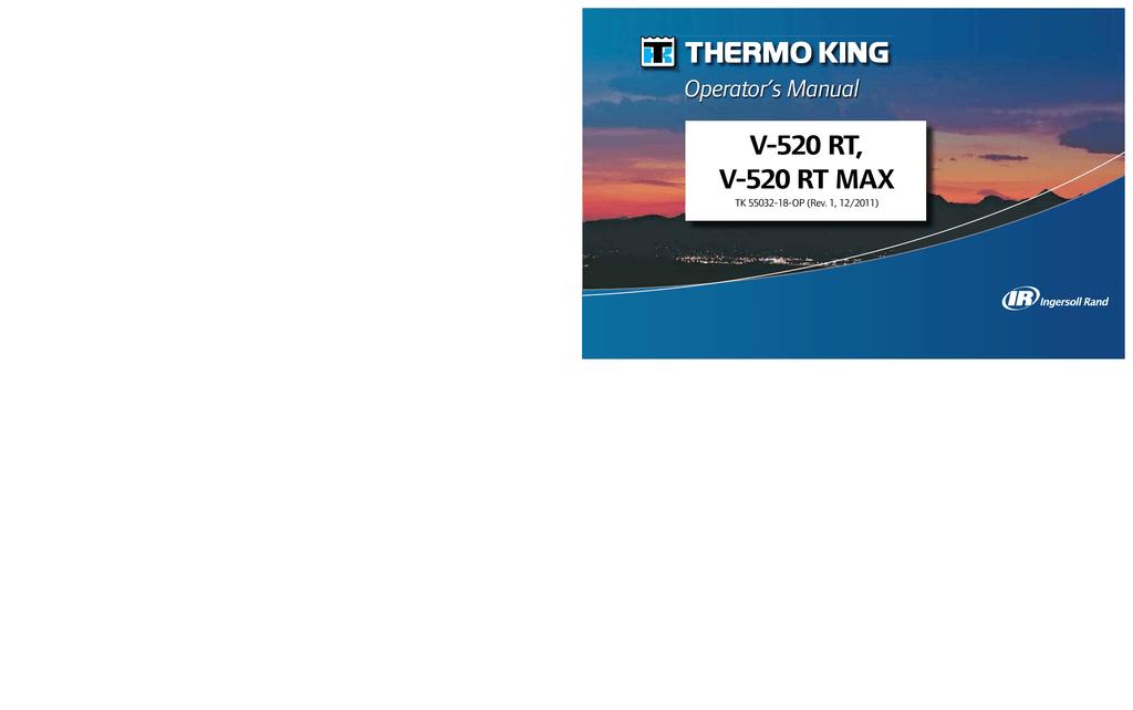V-520 RT, V-520 RT MAX Operator's Manual | manualzz com