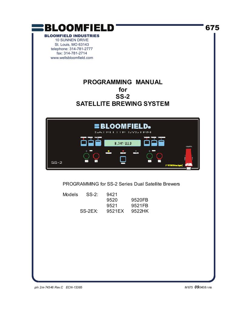 C SS-2 Programming Manual - 2M   manualzz com
