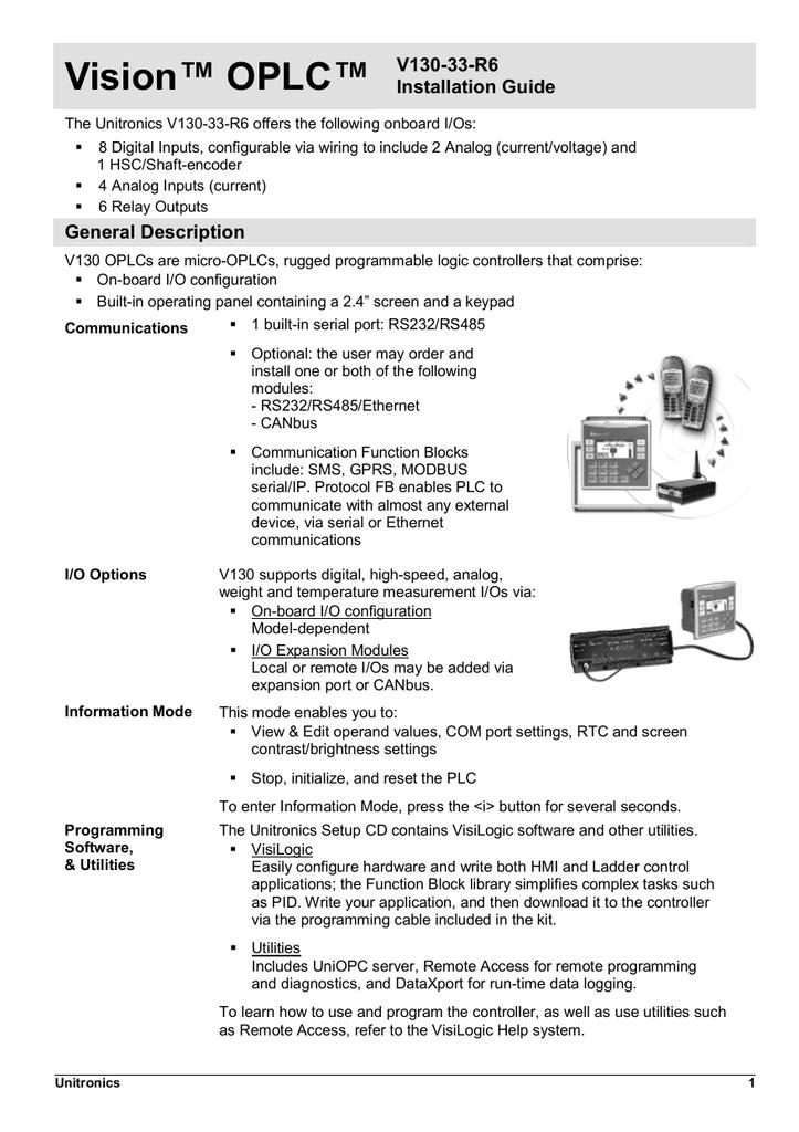 V130-33-R6 Install Guide | manualzz com