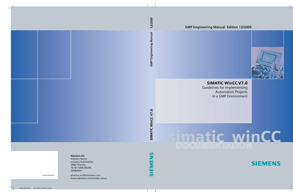 SIMATIC WinCC V7 0 | manualzz com