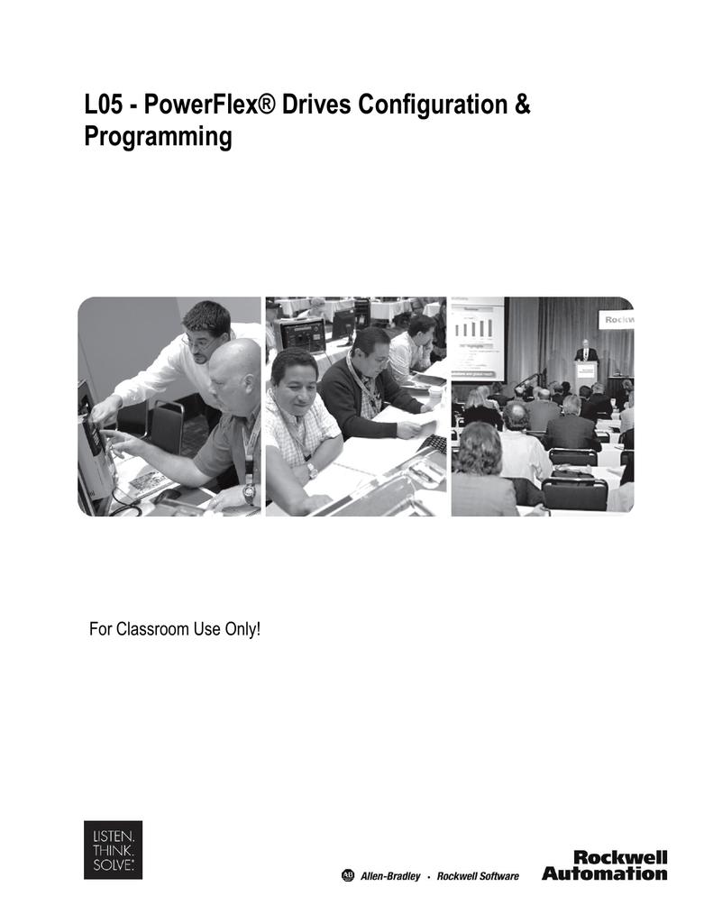 l05 powerflex drives configuration programming for classroom
