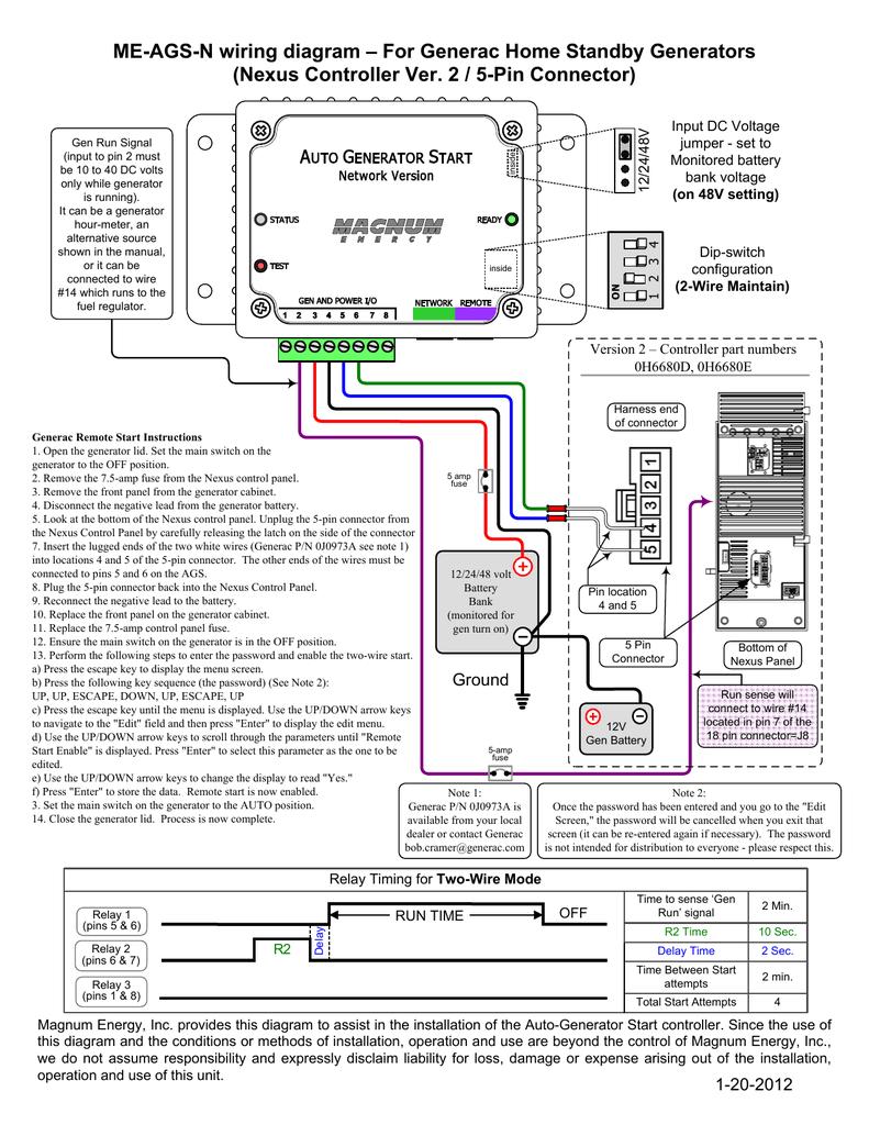Nexus Wiring Diagram Wiring Diagram