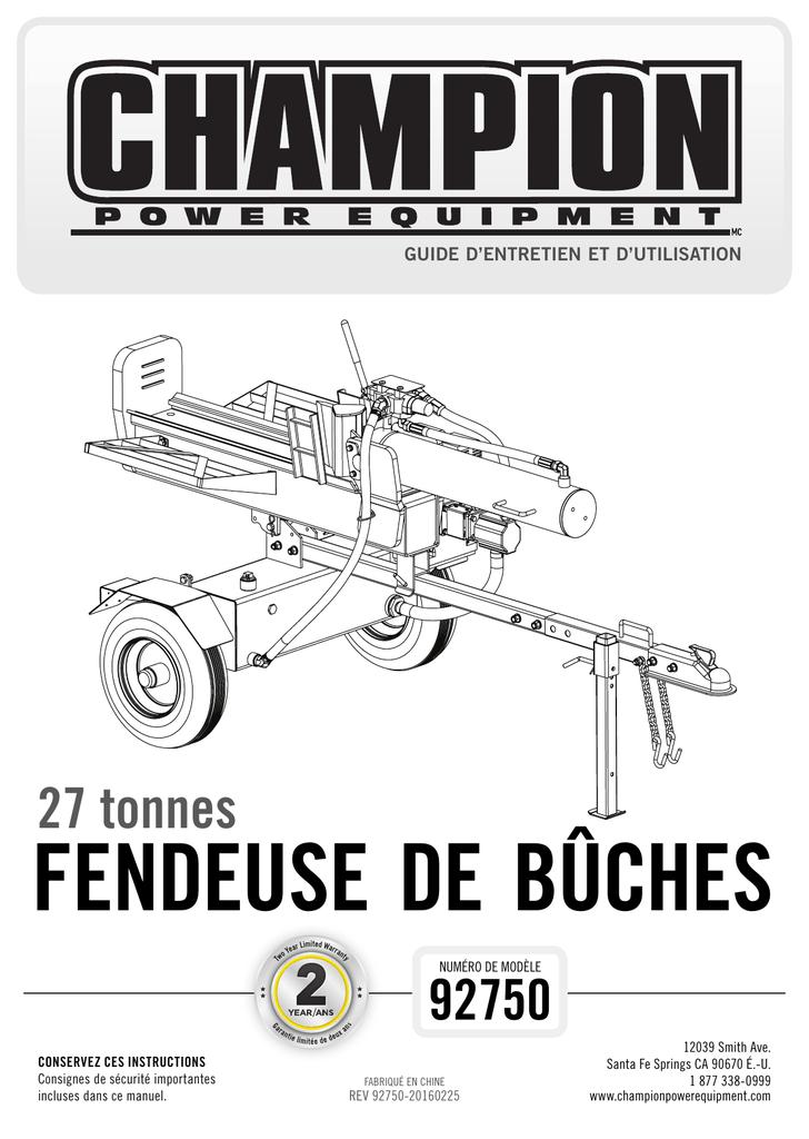 Osmose La Fendeuse Manual Guide