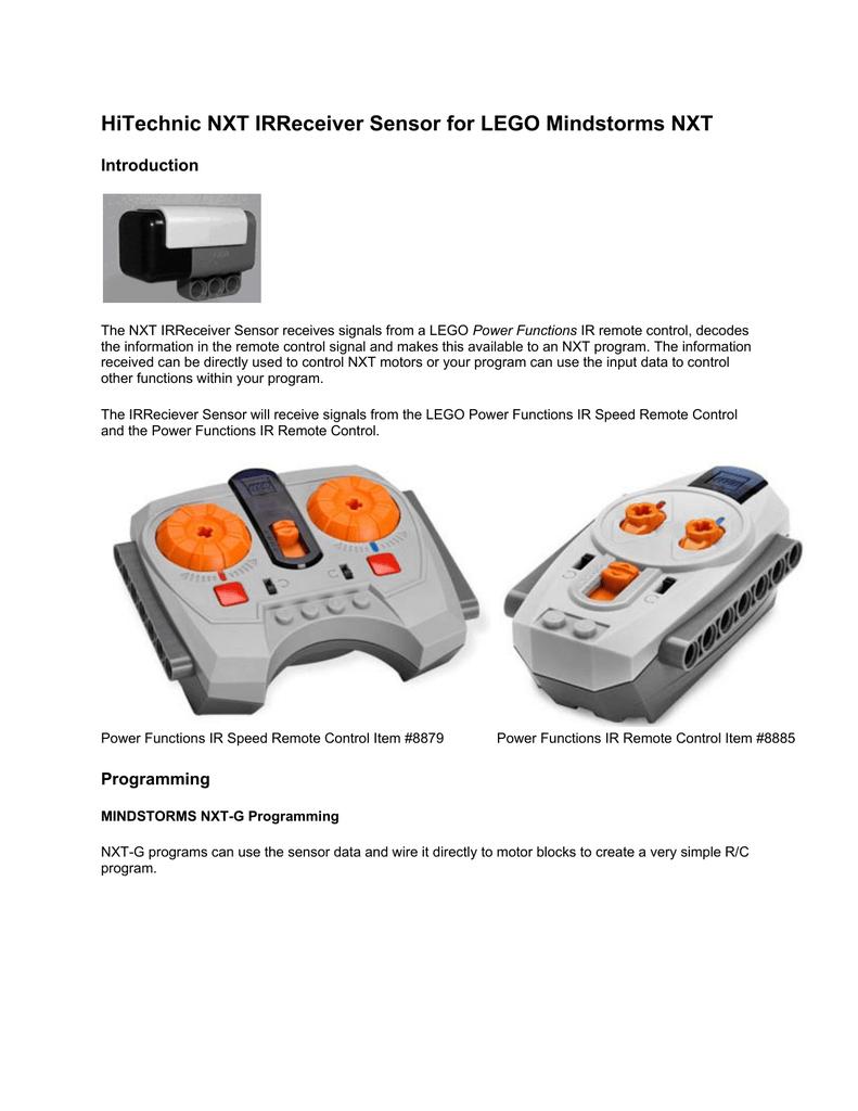 HiTechnic NXT IRReceiver Sensor for LEGO Mindstorms NXT
