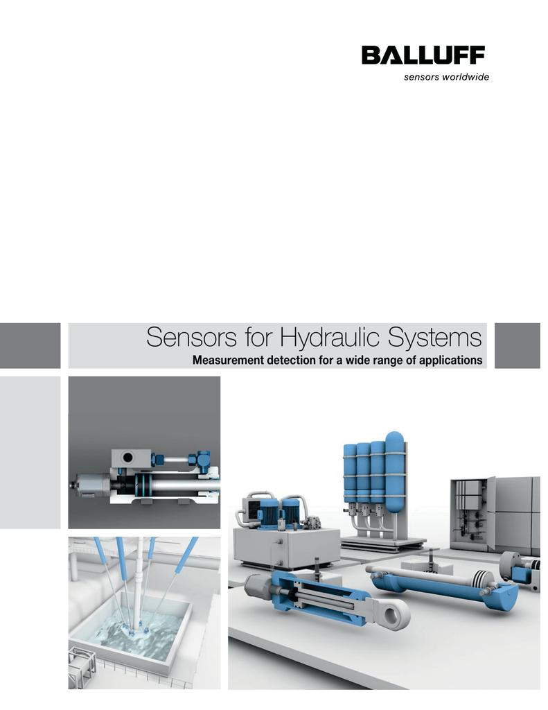 Balluff Hydraulic Sensors Catalog | manualzz.com on