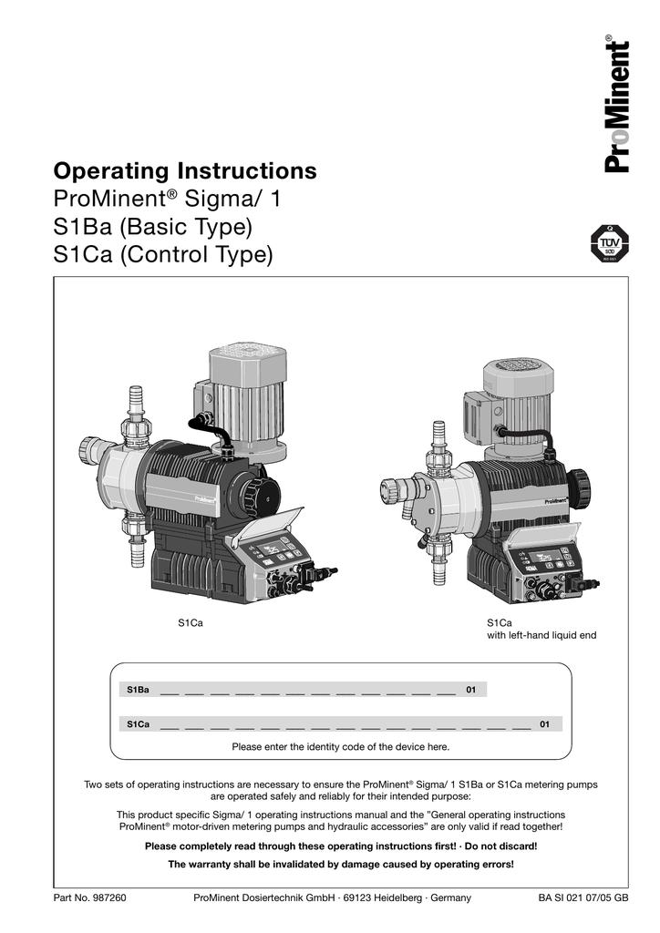 Minent Pr o Operating Instructions | manualzz com