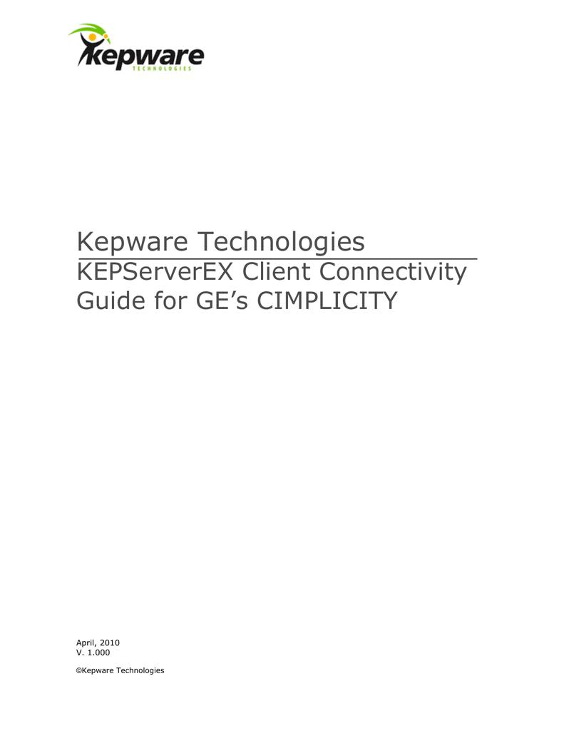GE Cimplicity | manualzz com