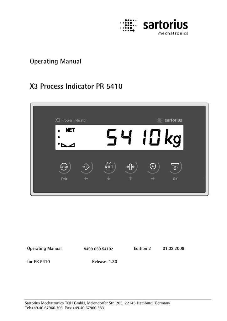 X3 process indicator pr pdf.