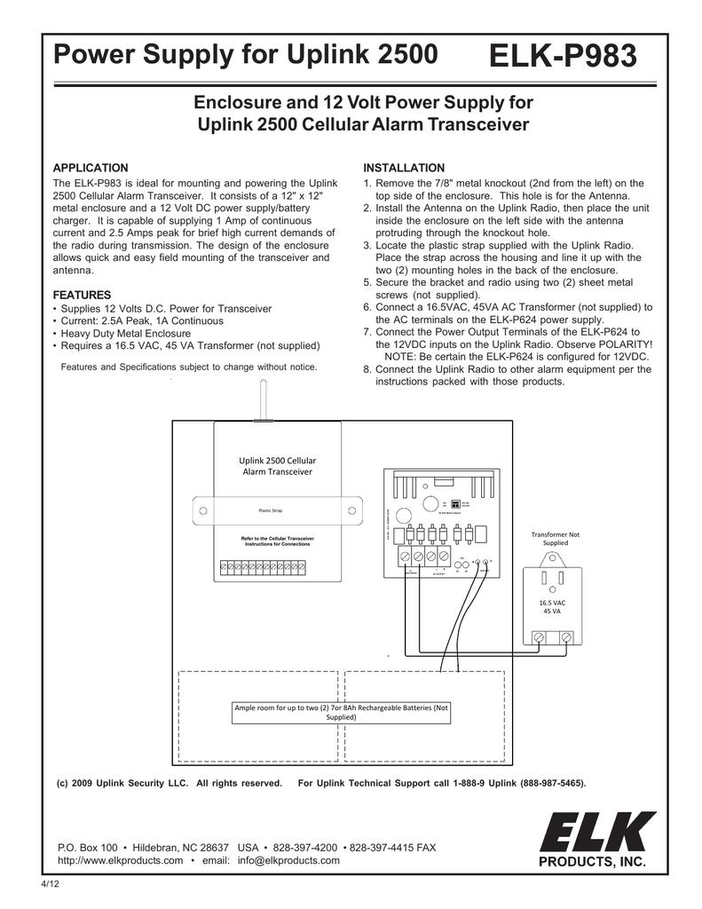 ELK-P983 Instructions | manualzz com