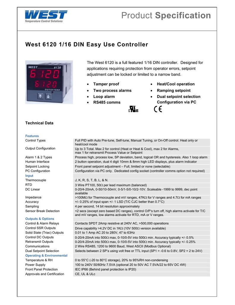 6120 Spec Dc Control For Triacs