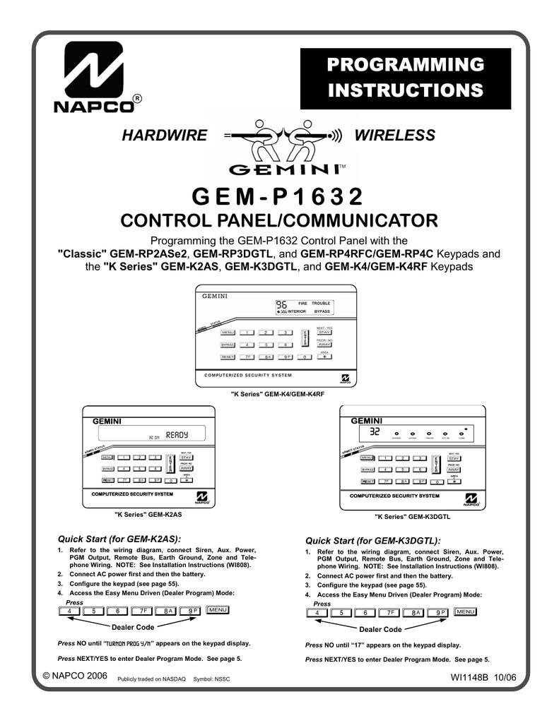 Business & Industrial Gemini Designer Keypad GEM-K2AS Computerized ...