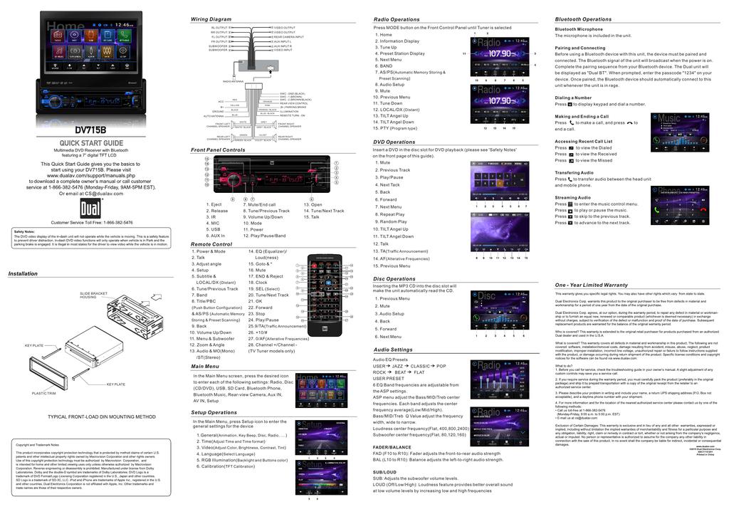 dv715b quick start guide