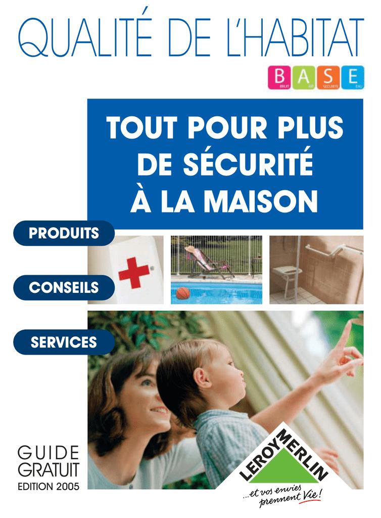 Guide Secuite Maison Manualzzcom