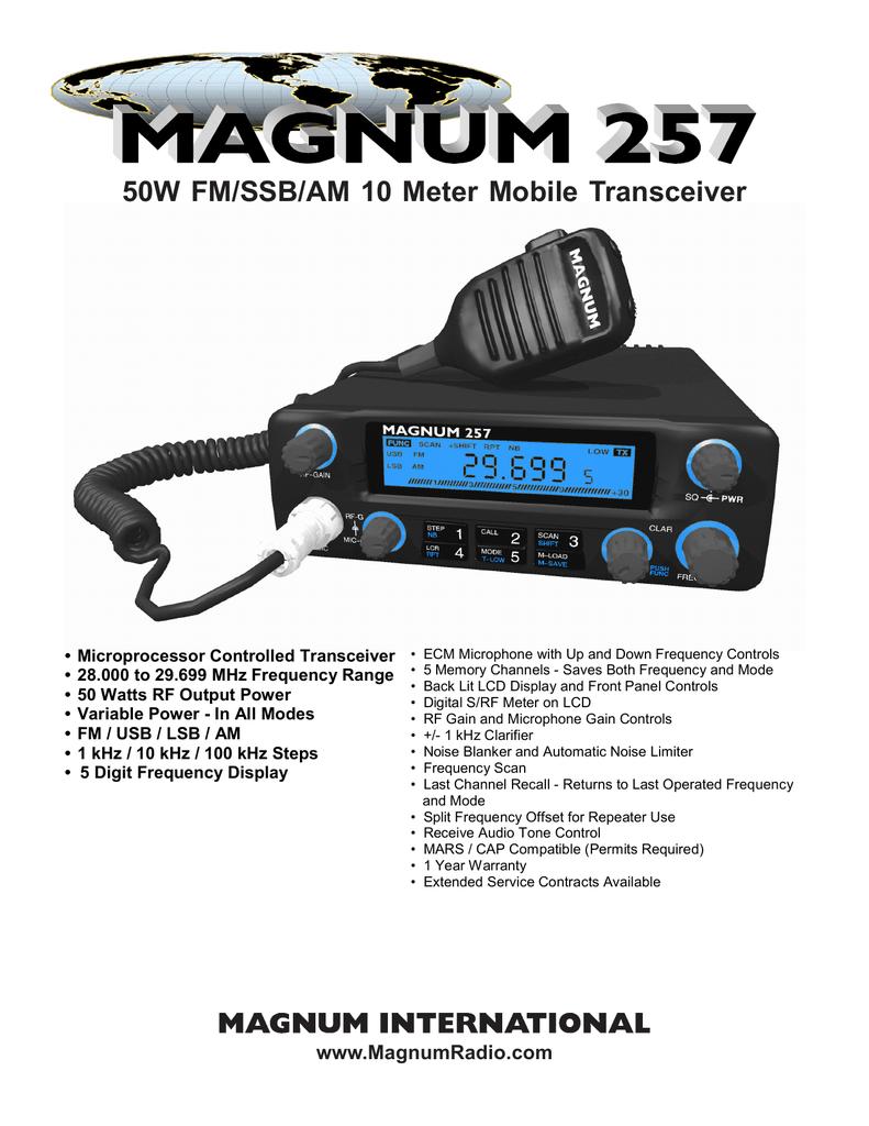 Magnum_M-257_50W_broch | manualzz com