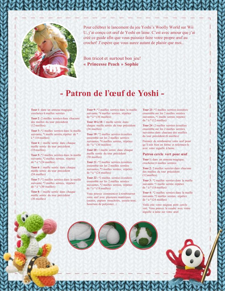 Pour célébrer le lancement du jeu Yoshi\'s Woolly World sur... U, j ...