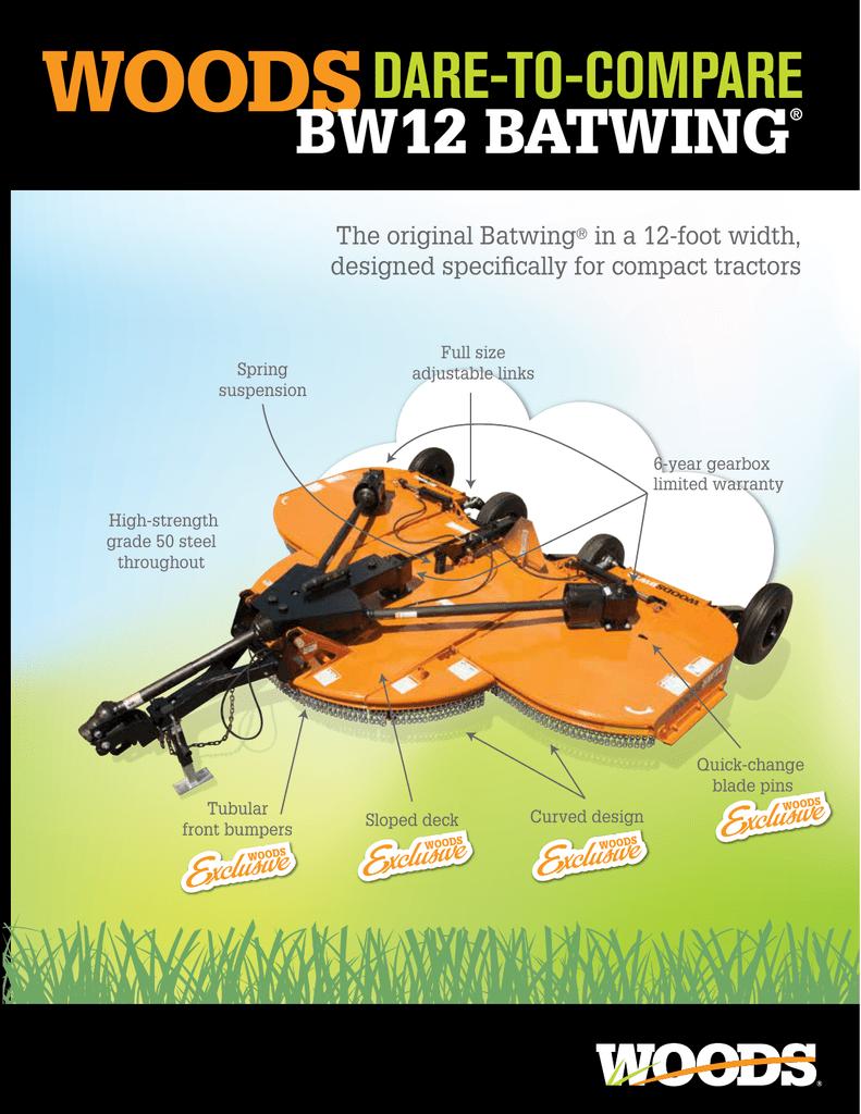 BW12 Batwing Dare To Compare | manualzz com