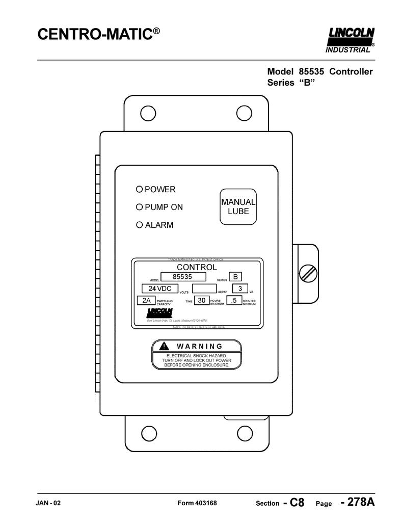 lincoln 85535 manualzz com  lincoln auto lube wiring diagram #6
