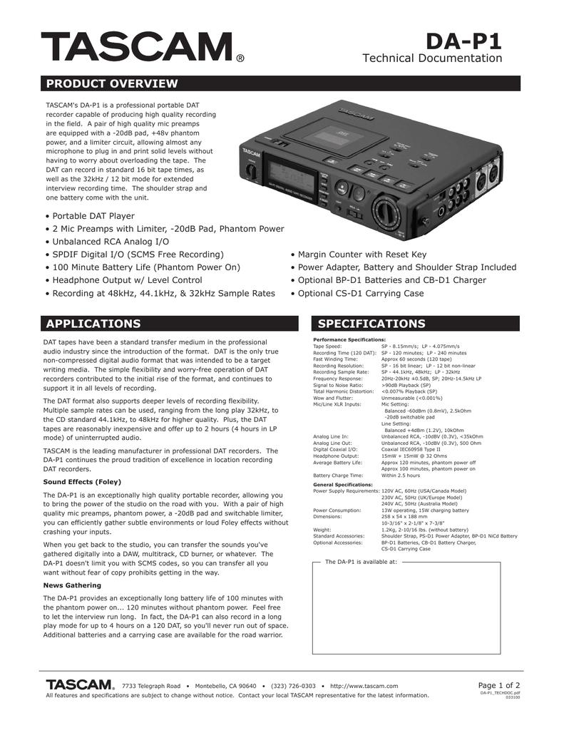 DA-P1 (dap1-1, 385 Кб) | manualzz com
