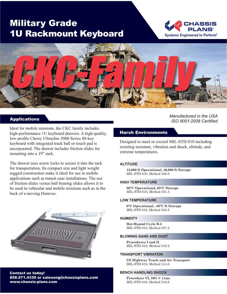 CKC Rackmount Keyboard | manualzz com