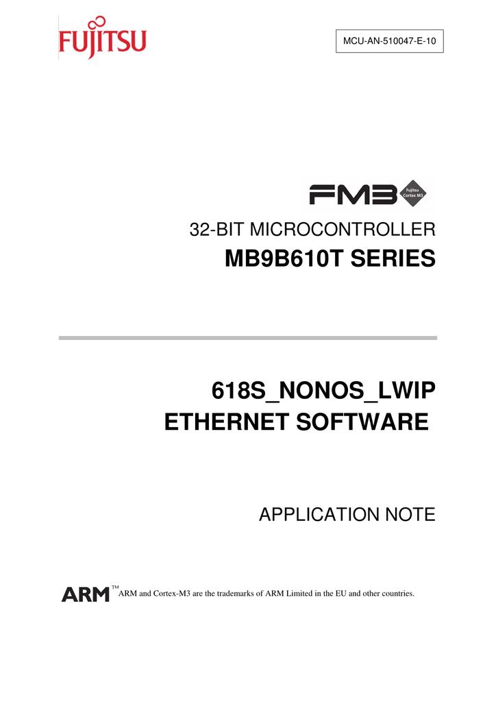 MB9BF618S-Non-OS | manualzz com