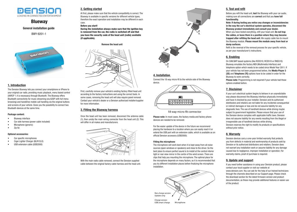 Blueway manual | manualzz com