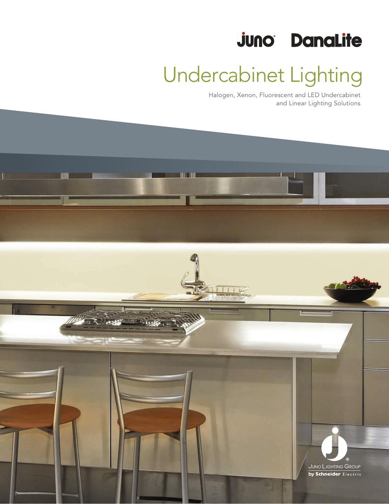 JUNO-USTL1-3K-SN Satin Nickel Undercabinet Lighting