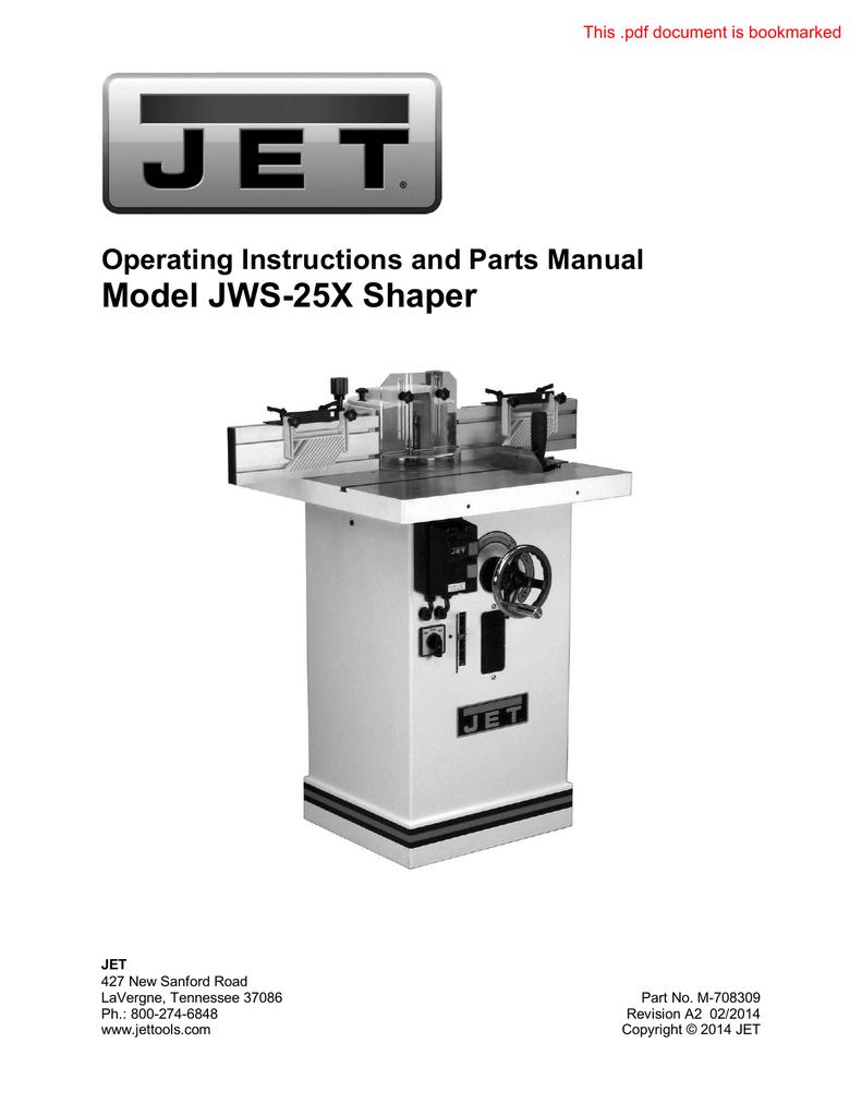 JWS35X-423A 5HP//1PH JPW Power Cable