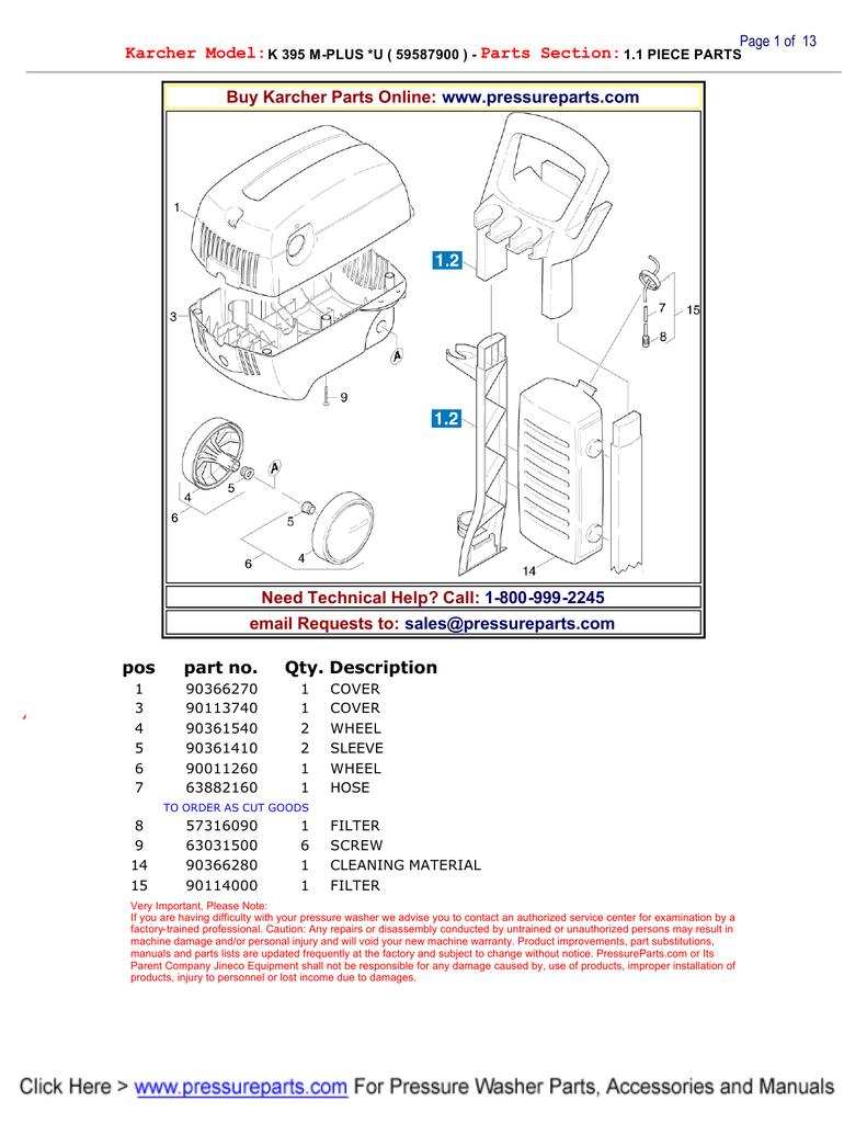 Karcher Switch knob  90363510