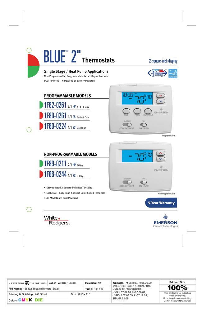 1F80-0261 Product Brochure | manualzz com