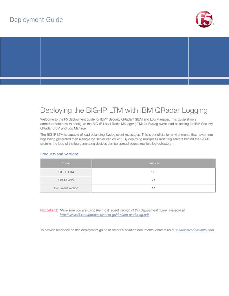 IBM QRadar   manualzz com