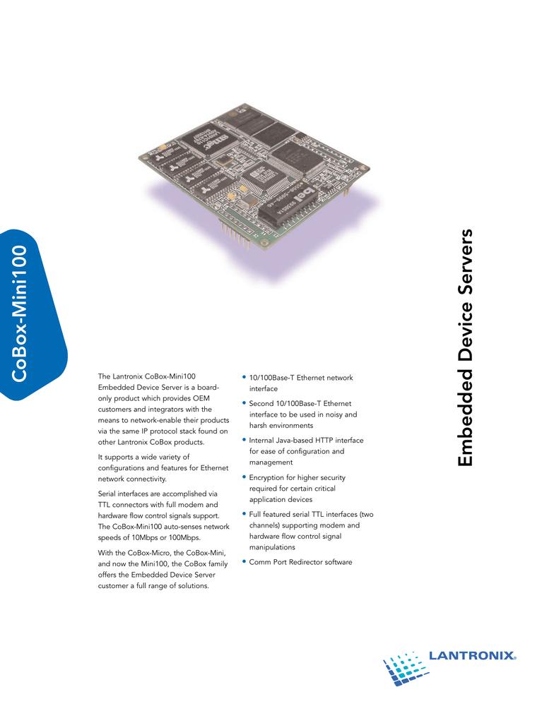 CoBox-Mini100 • | manualzz com