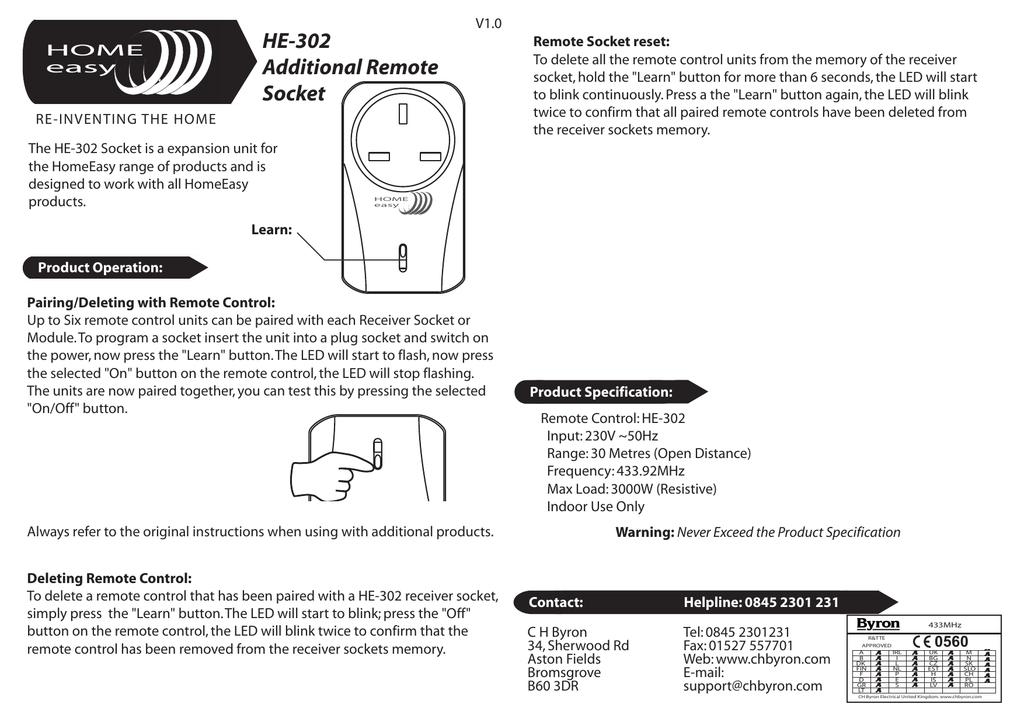 He302 Manual Manualzz