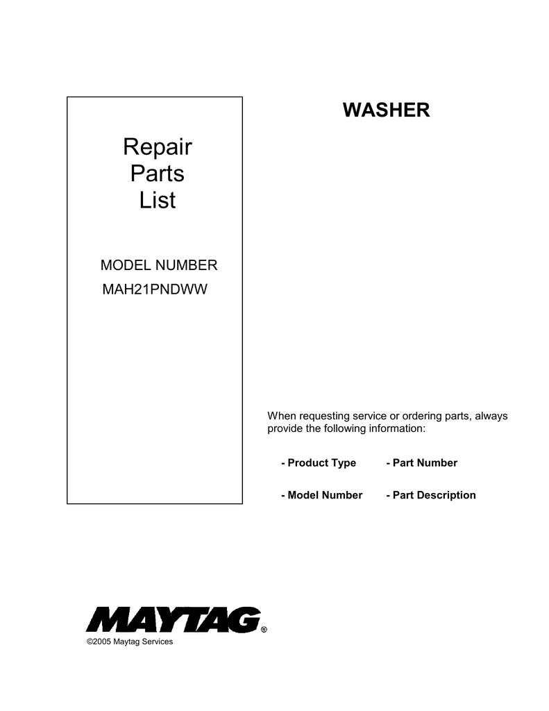 MAH21PNDWW | manualzz.com on