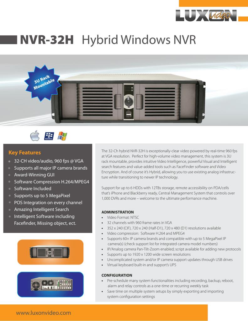 NVR-32H   manualzz com