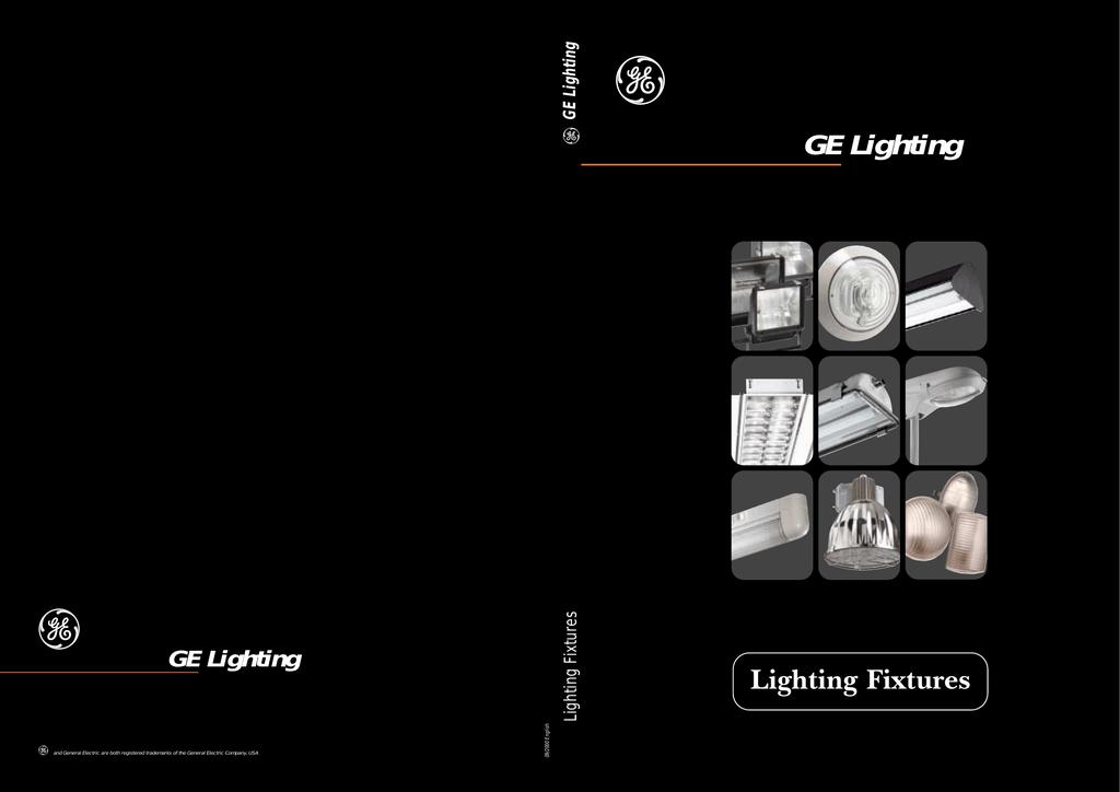 E Ge Lighting Fixtures Manualzz