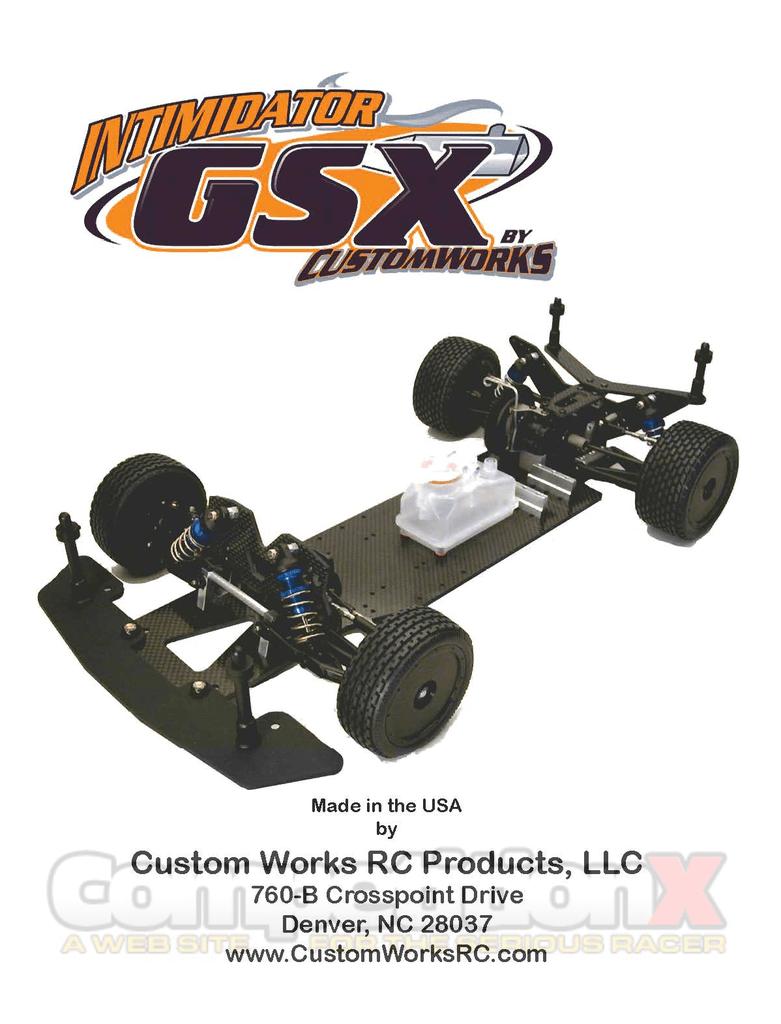 Custom Works Intimidator GBX Electric Bearing set Ball Bearings