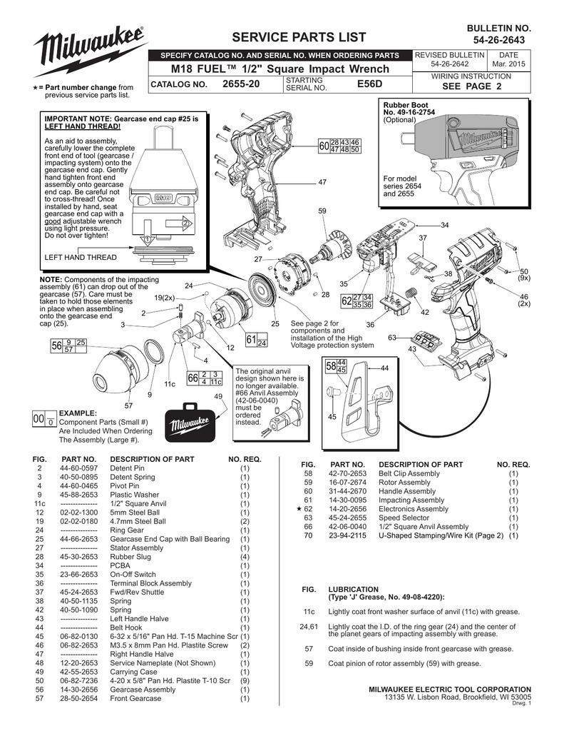 Milwaukee 31-44-2670 Handle Assembly