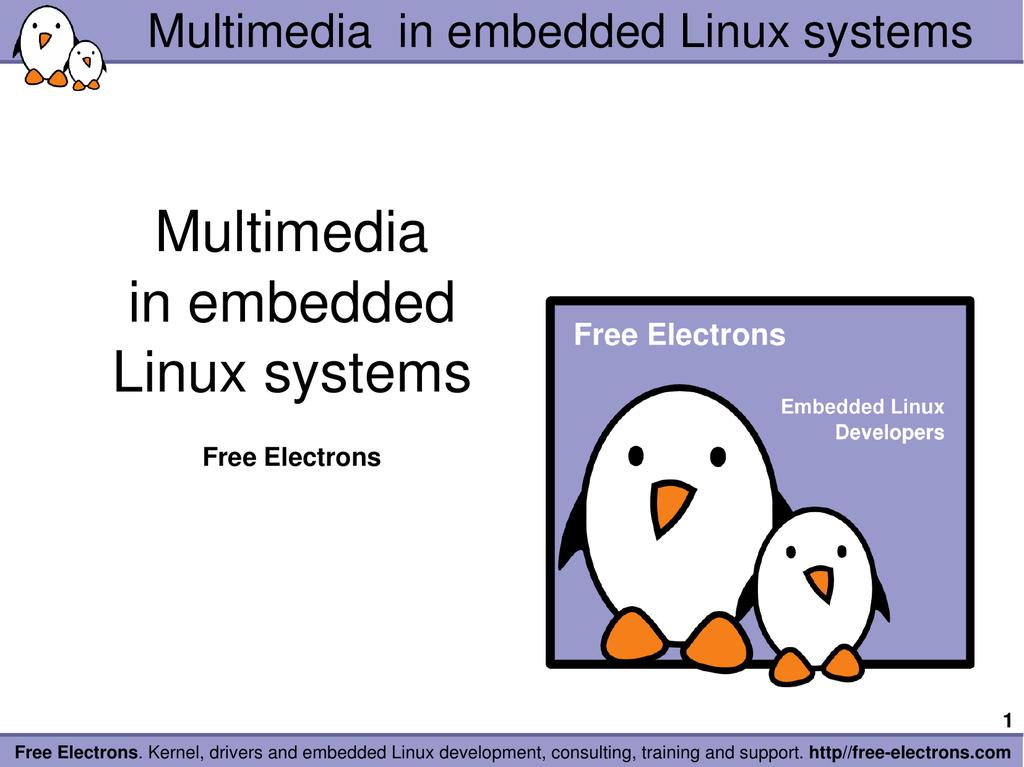embedded_linux_multimedia | manualzz com