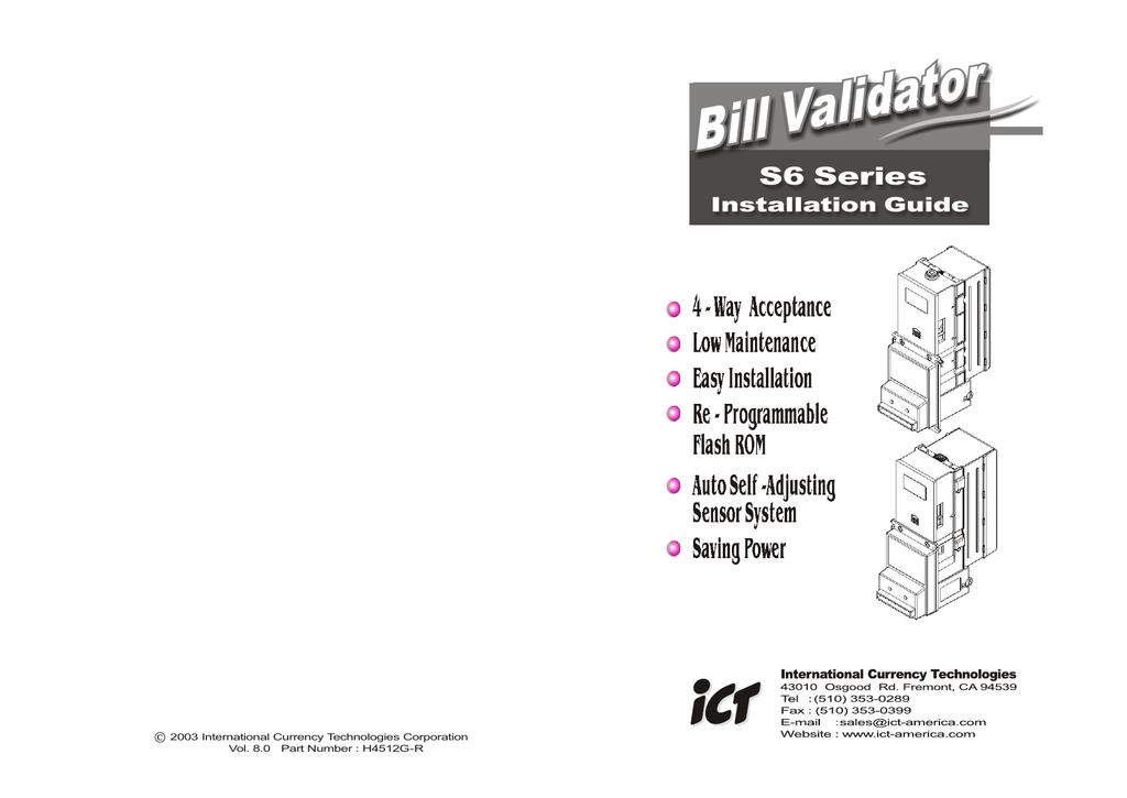 Shelti Bayside DB Validator Guide | manualzz com