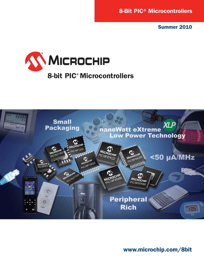 8-bit PIC Microcontrollers www microchip com/8bit 8-Bit PIC