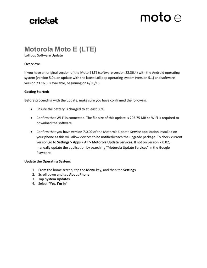 Motorola Moto E (LTE) | manualzz com