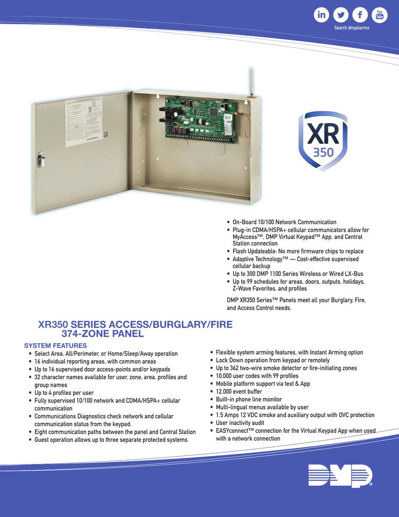 DMP XR350 | manualzz com