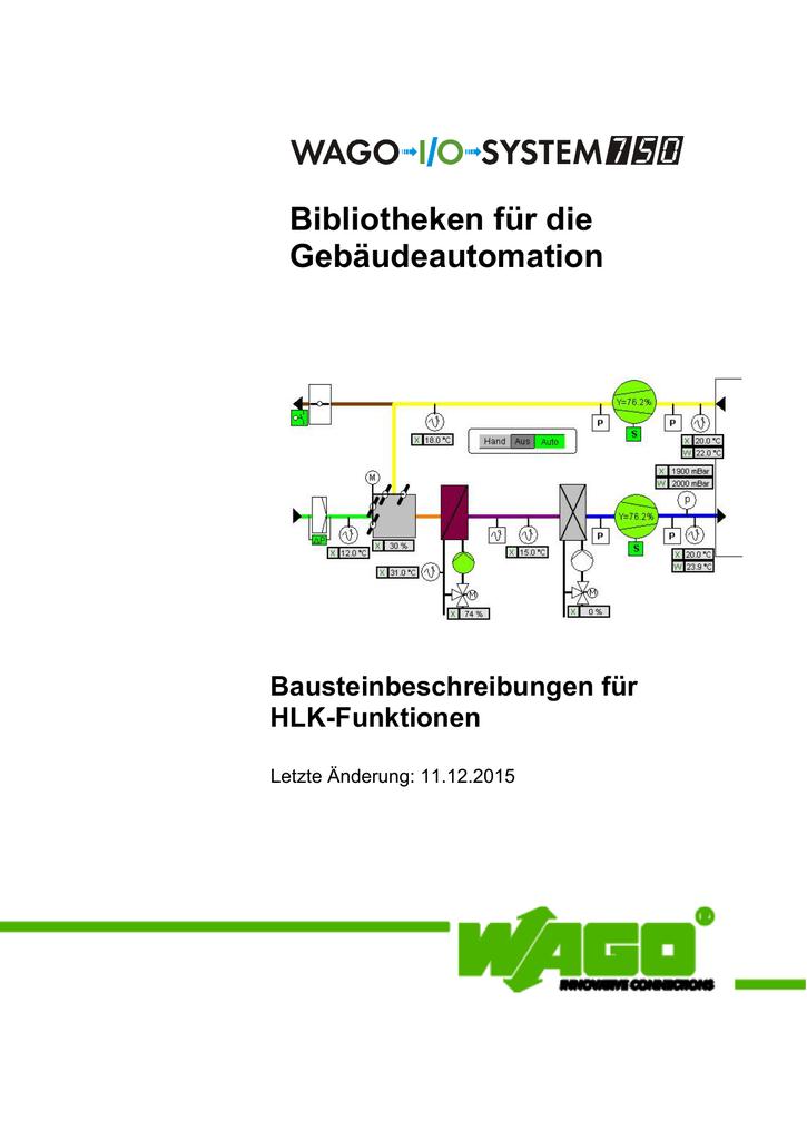 Bibliotheken für die Gebäudeautomation Bausteinbeschreibungen für ...
