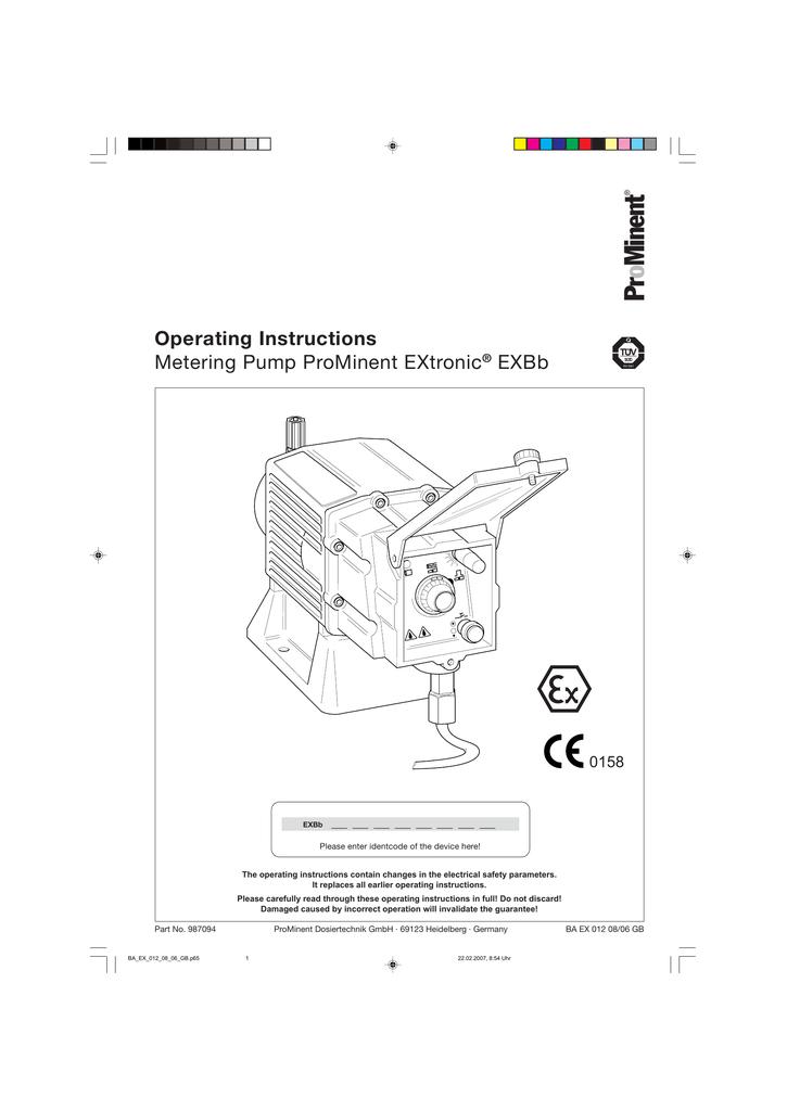 Manual: EXBb Manual English | manualzz com