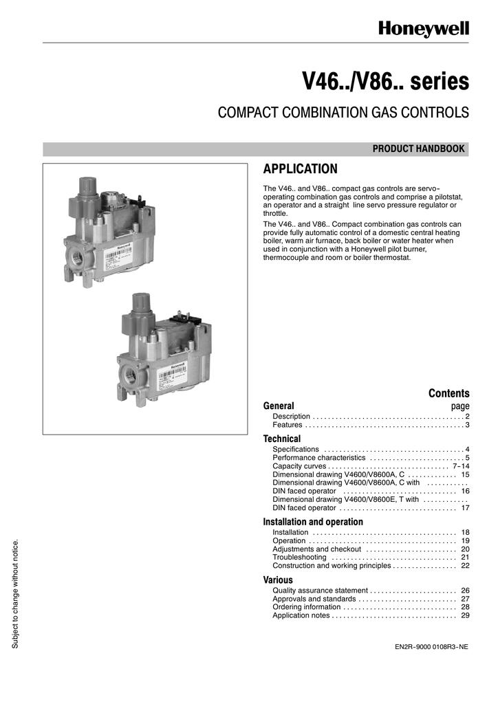 Honeywell Vs820 Gas Valve Wiring Diagram   Vs820c Gas Valve Wiring Diagram      Wire Diagram