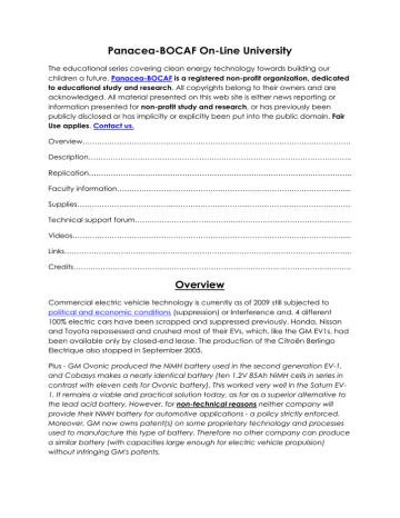 EV conversion.pdf | Manualzz