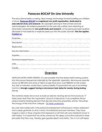 Rosemary Ainslie COP17 Heater Technology.pdf | Manualzz