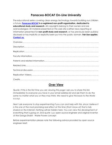 Water Spark Plug.pdf | Manualzz