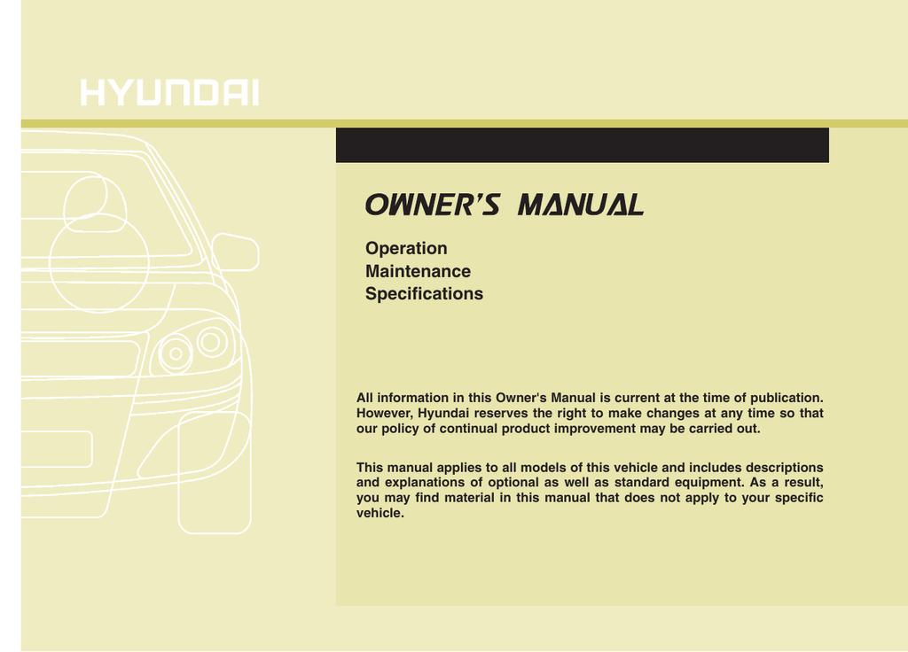 Download 2016 Hyundai Genesis Coupe Owner's Manual PDF | manualzz com