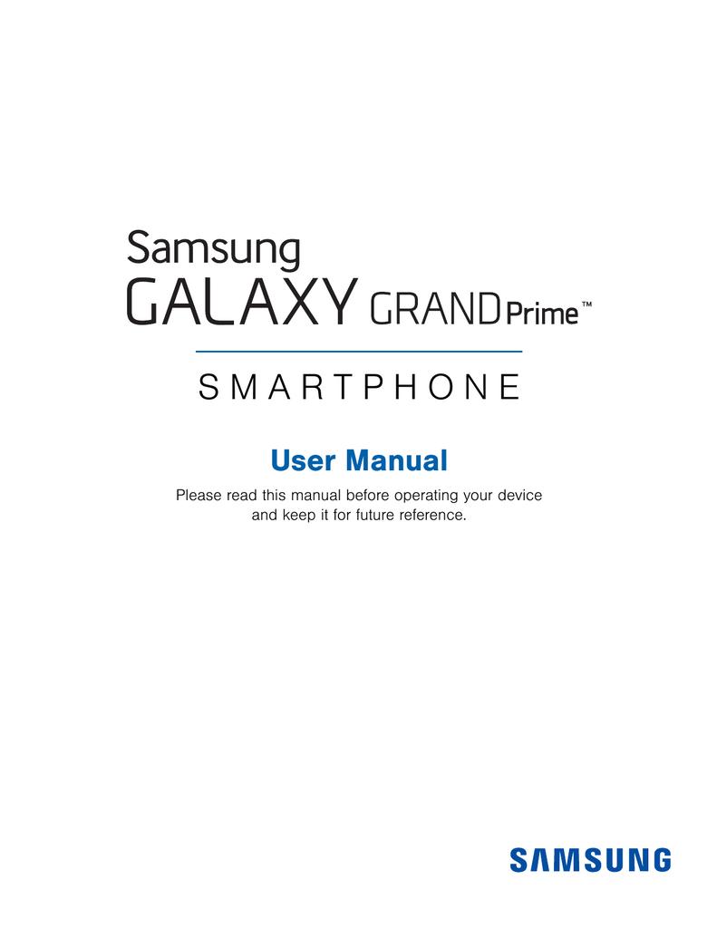 Download Samsung Galaxy Grand Prime SM-G530T1 Manual PDF